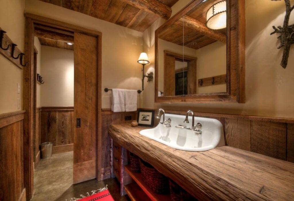 Natural Textures Wood Counter