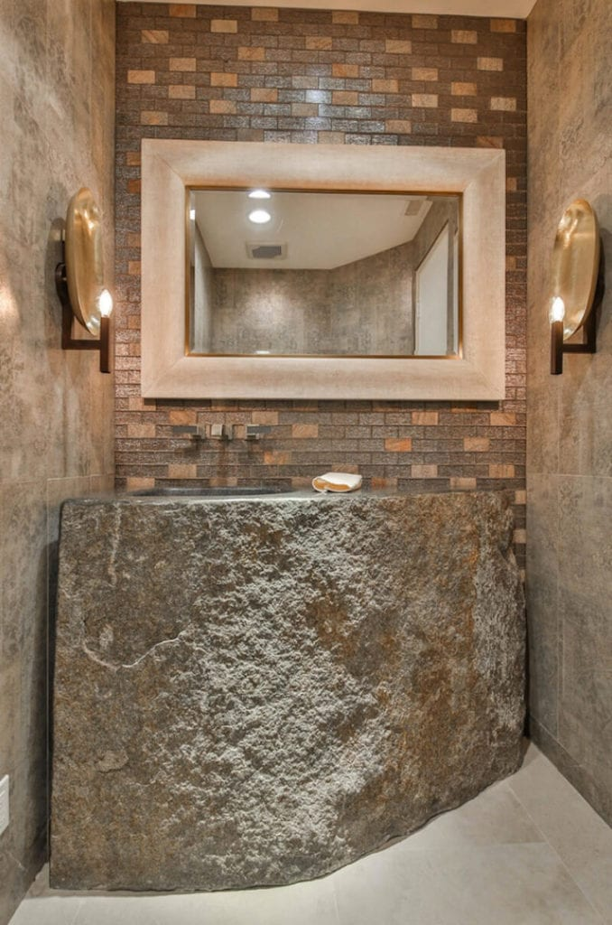 Natural Textures Stone Sink