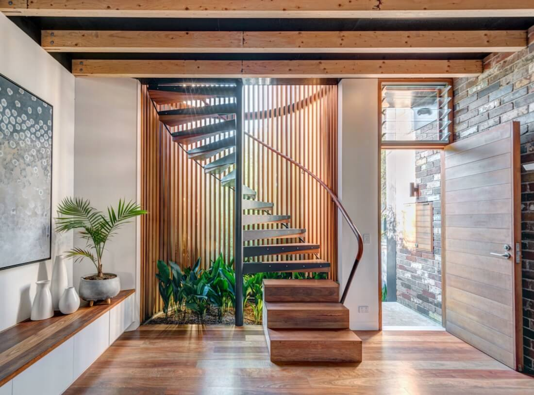 Natural Textures Staircase Ferns