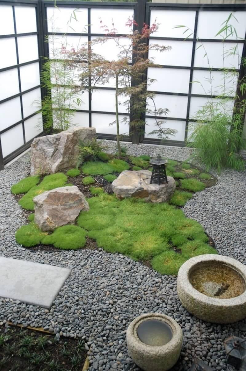 Natural Textures Zen Garden