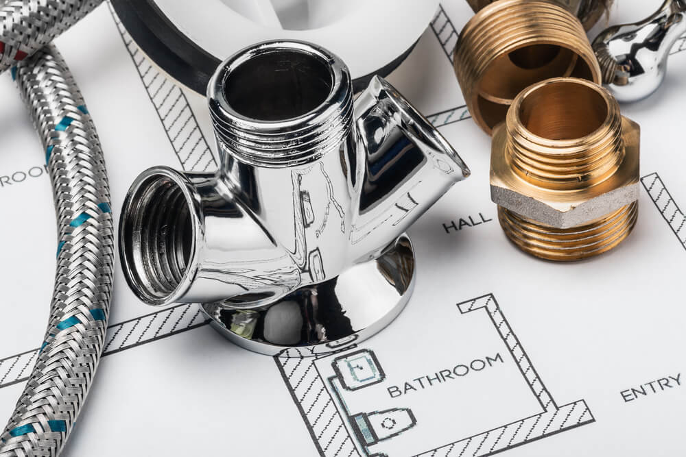 Plumbing components often need to be replaced. Image: