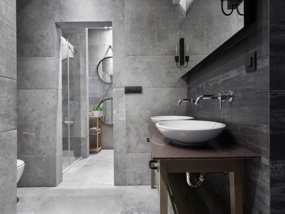 Open Design Showers Background Style