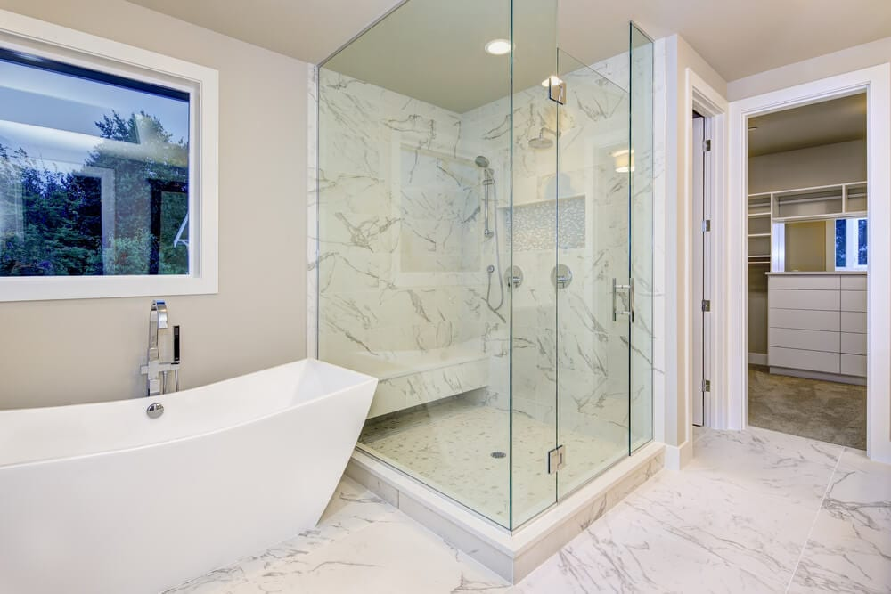 Open Design Showers Geometric Soaker Style