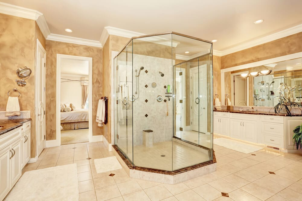Open Design Showers Middle Style