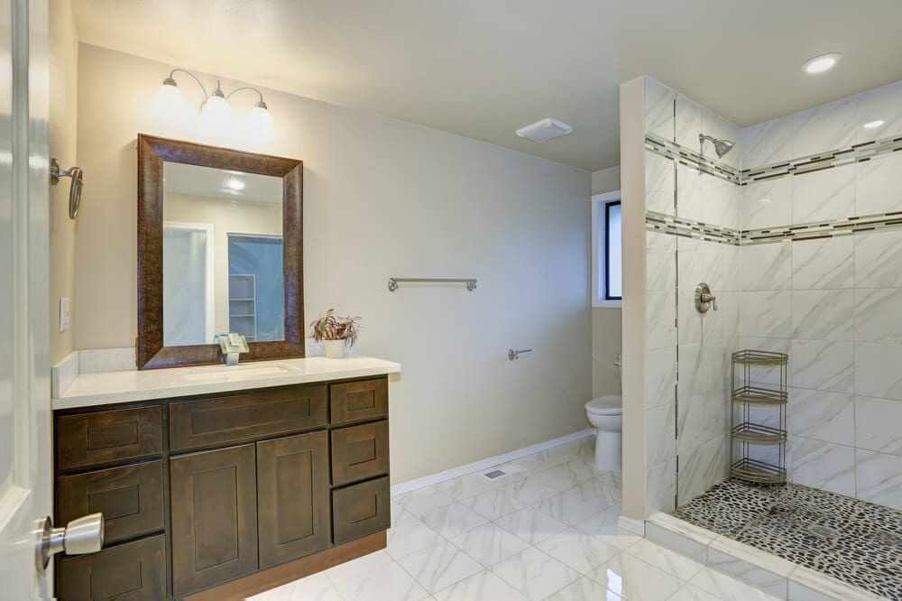 Open Design Showers Small Wall Style