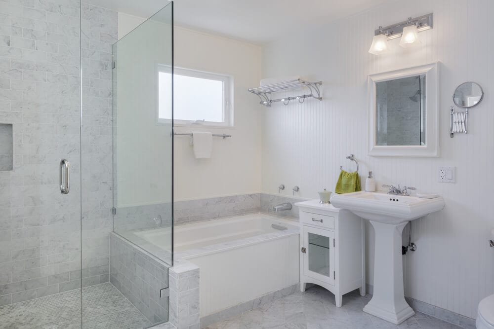 Open Design Showers Square Style