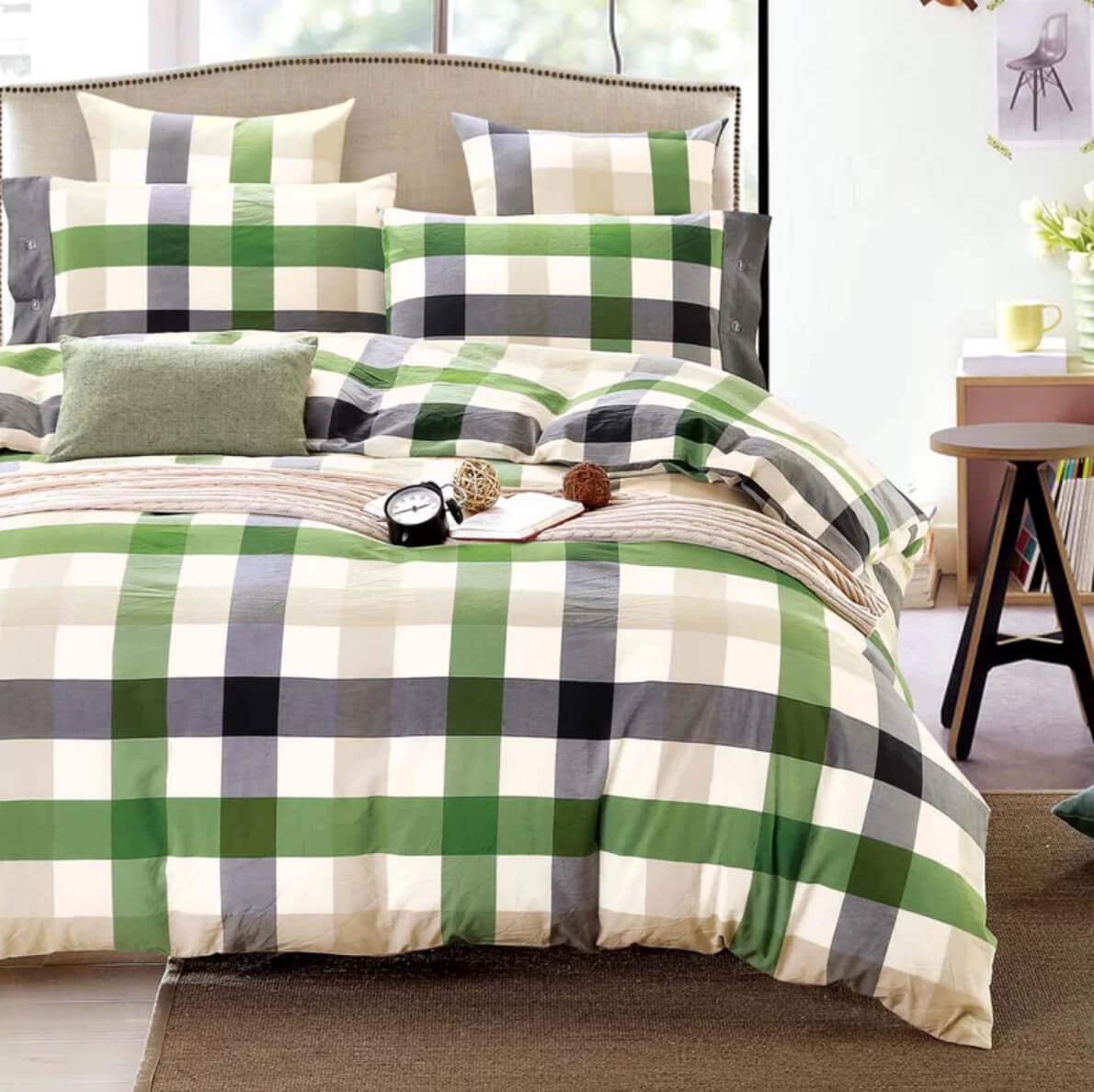 Plaid Bedroom Decor