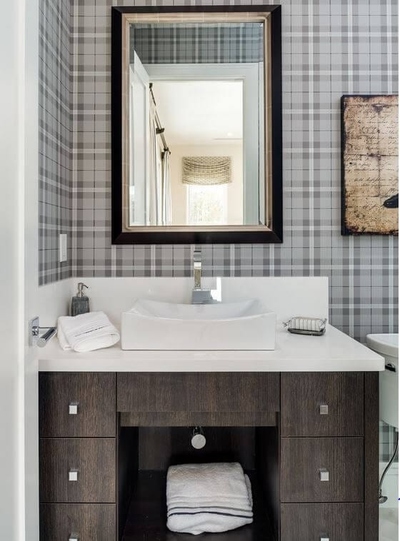 Think Wallpaper Is Outdated It Can Actually Update Your Bathroom