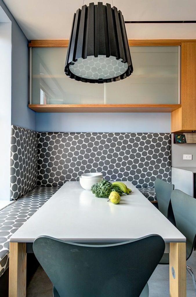 Polka-Dot Designs Breakfast Nook