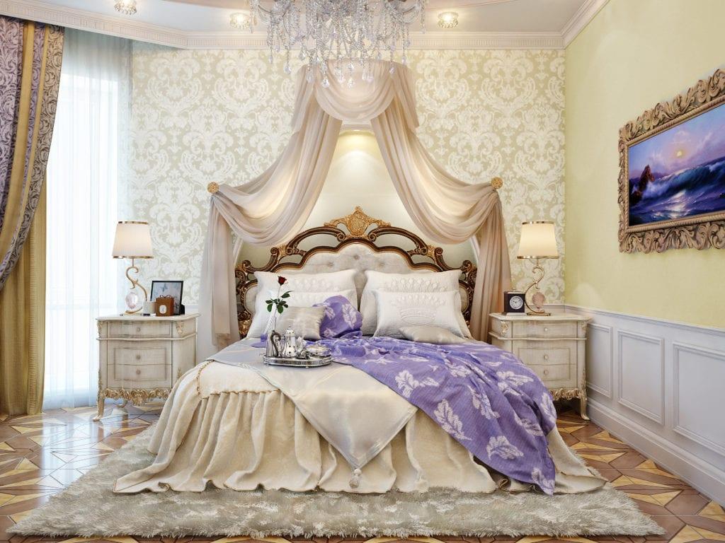 Rest in Regal Beautiful Bed