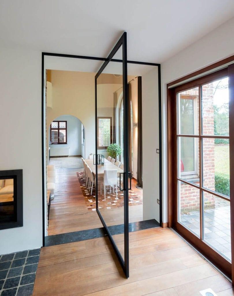 Room Dividers pivoting doors by Anyway Doors (5)