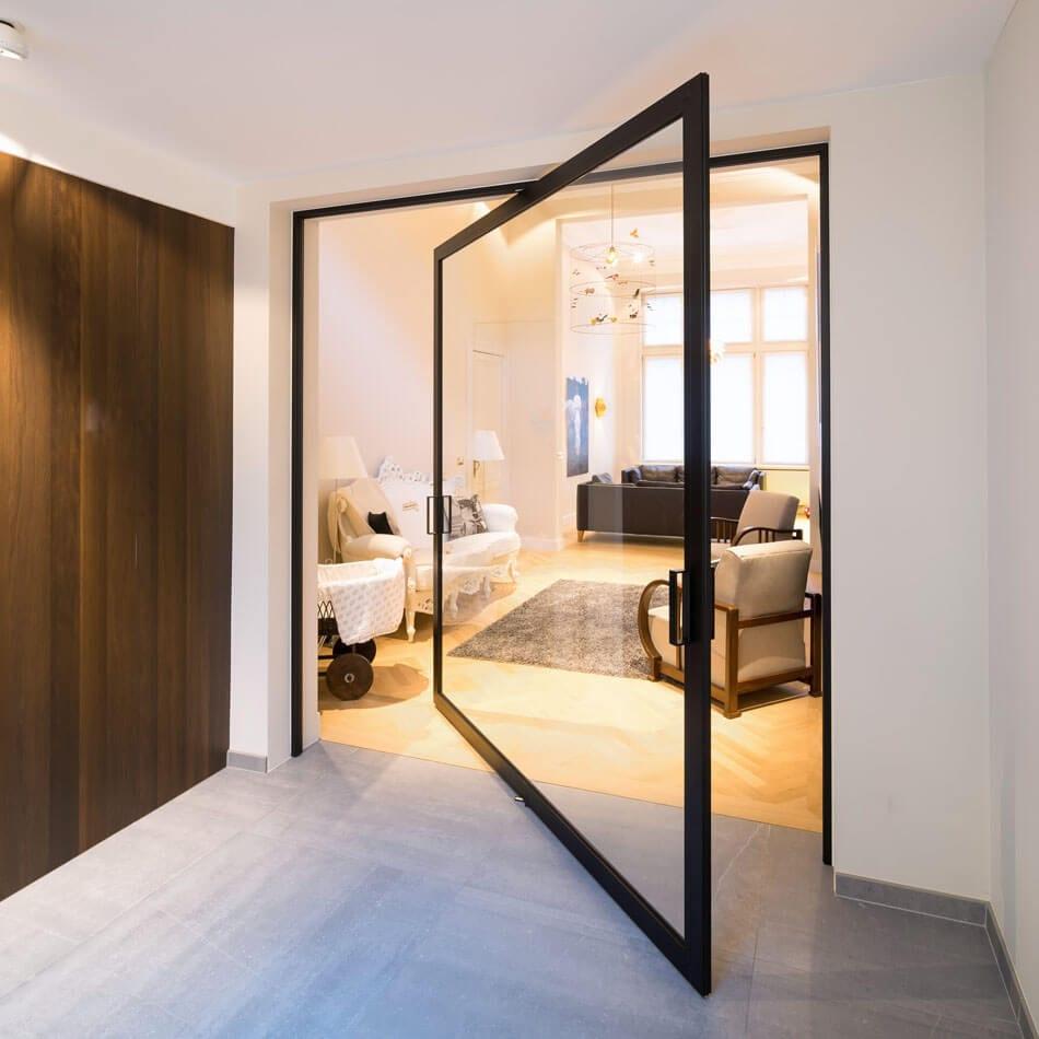 Room Dividers pivoting doors by Anyway Doors