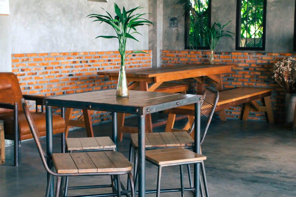 Rustic Brickwork Industrial Style