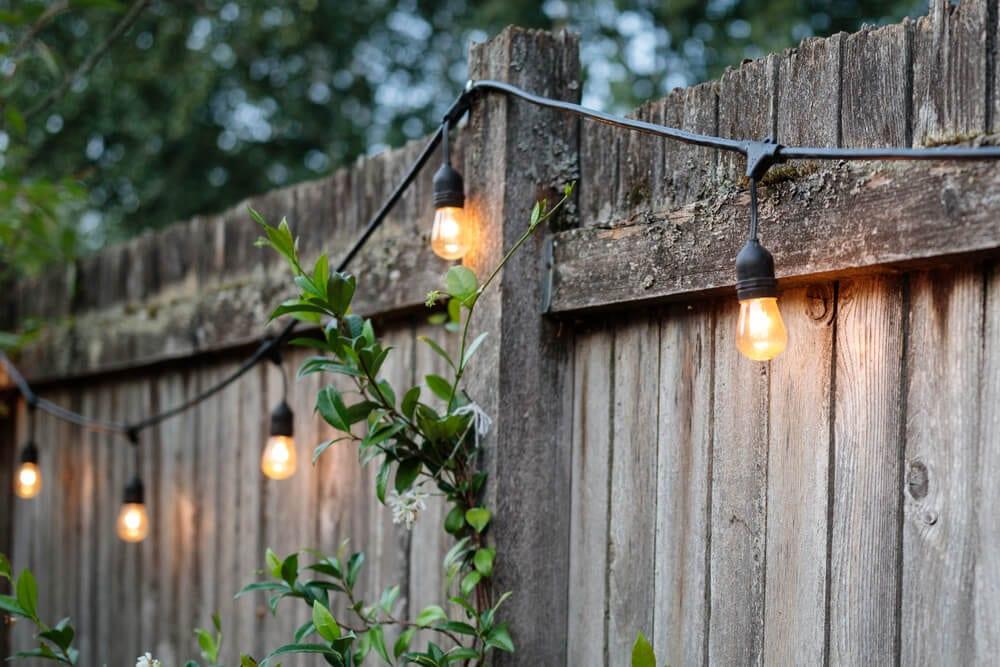 Rustic Lighting Distressed Wood