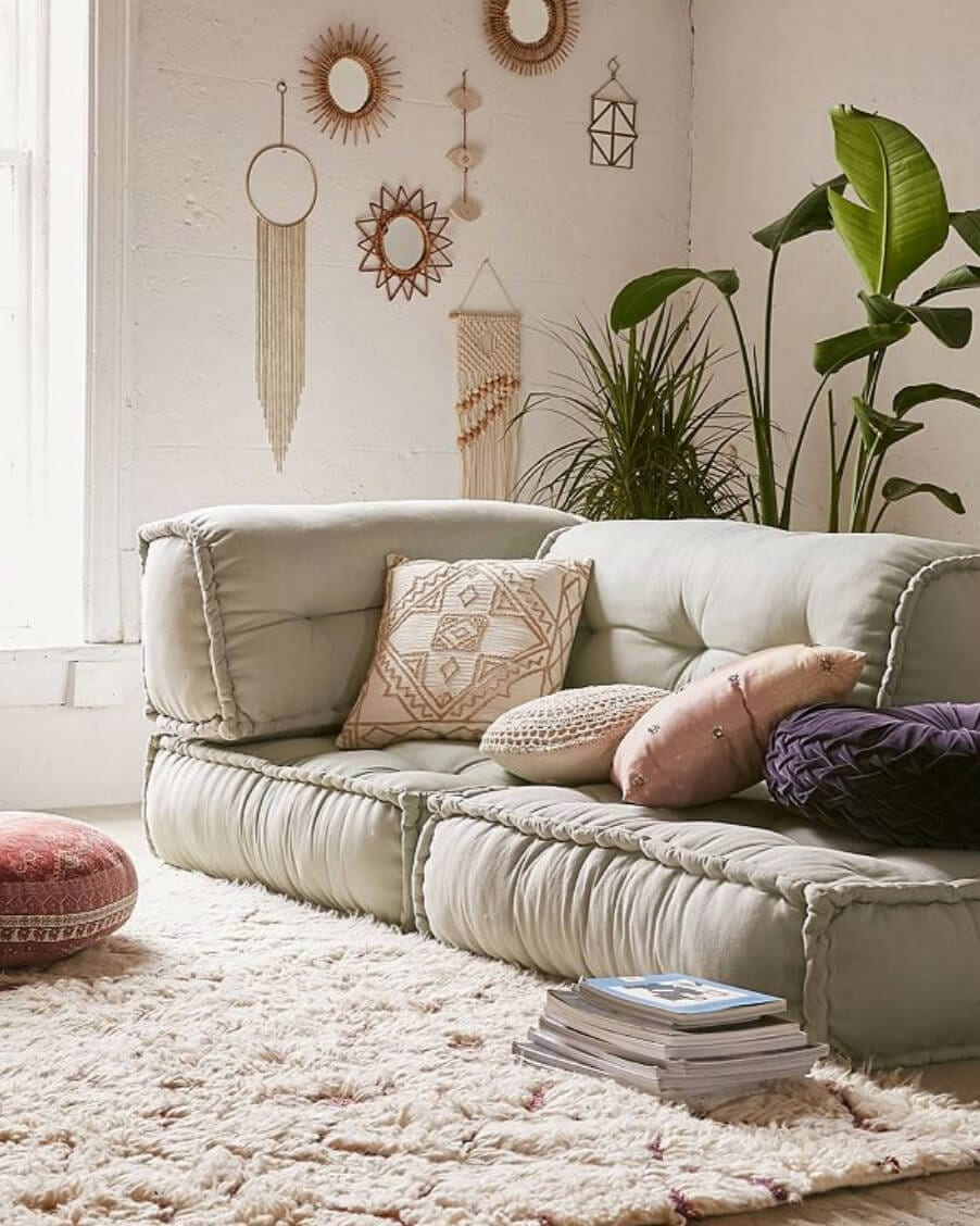 floor cushion set