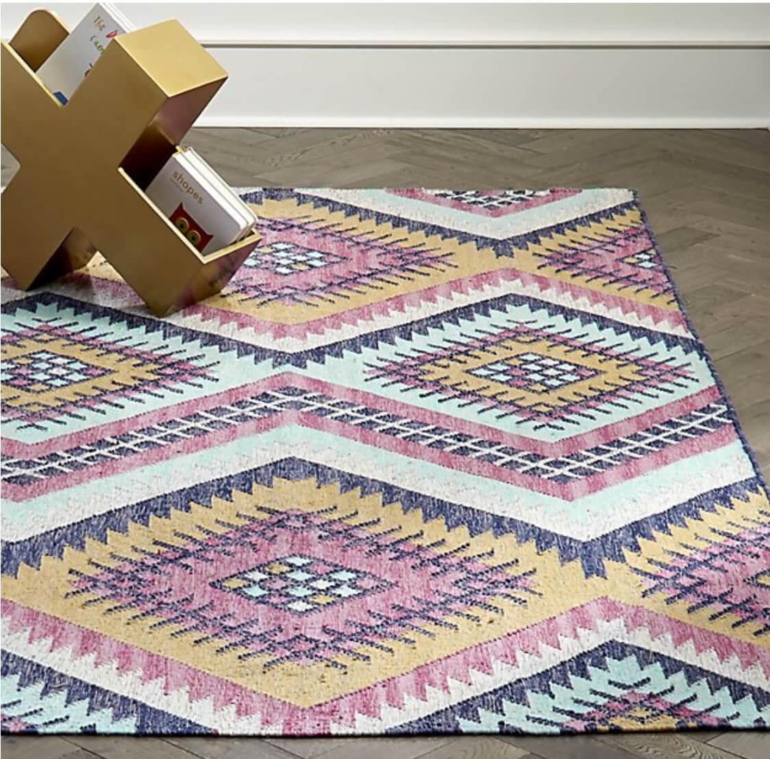 rug for summer decorating