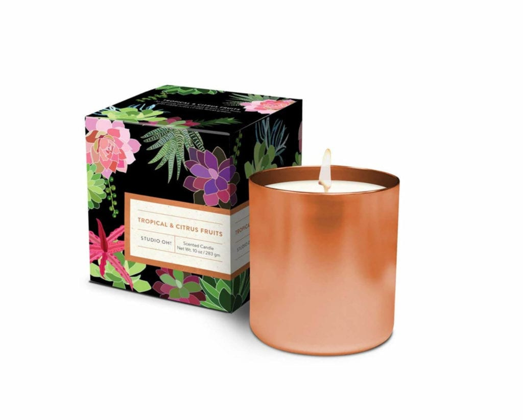 summer scented candles