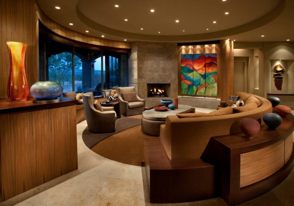 Sectional Sofa Designs Round Style