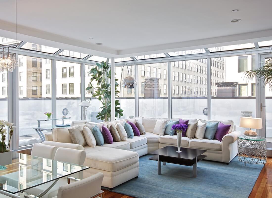Sectional Sofa Designs Throw Pillows
