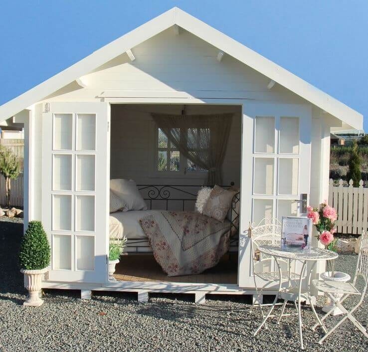 woman caves she-shed