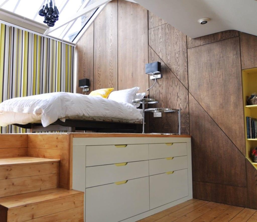 Small Space Beds Loft Platform