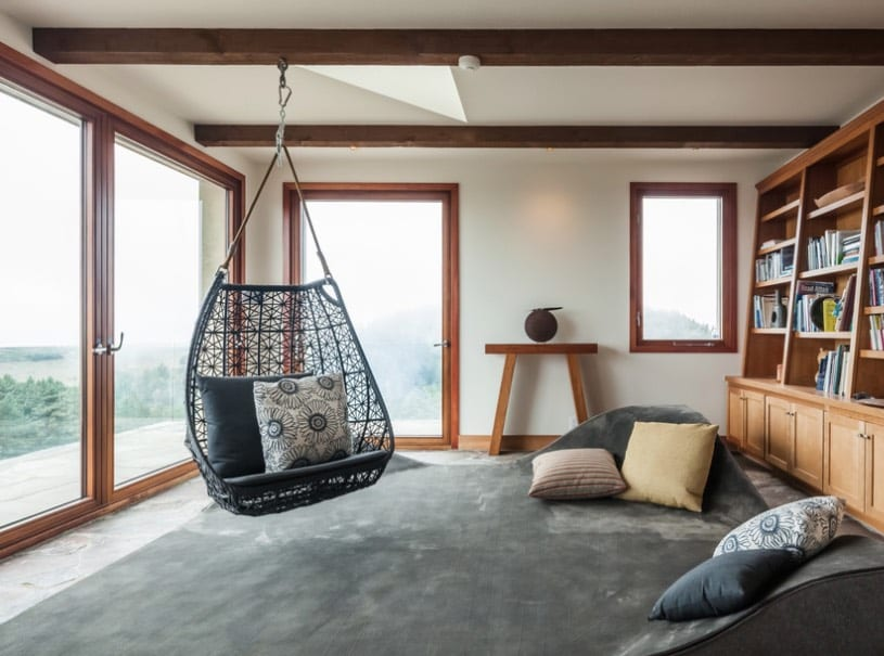 hanging basket chairs - freshome.com