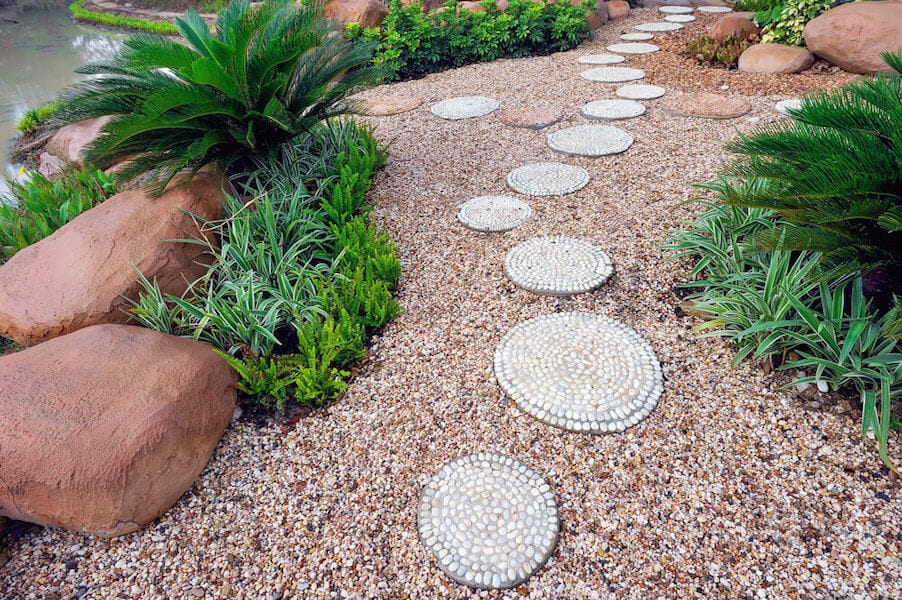 Stepping Stone Pathways Clean Modern