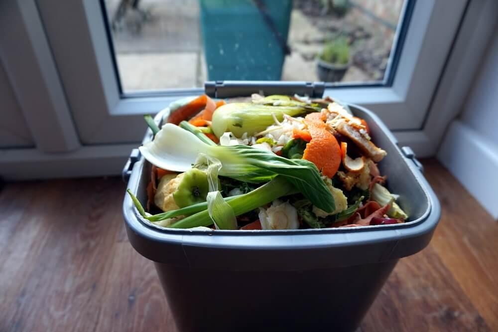 Sustainable Kitchen Compost Bin