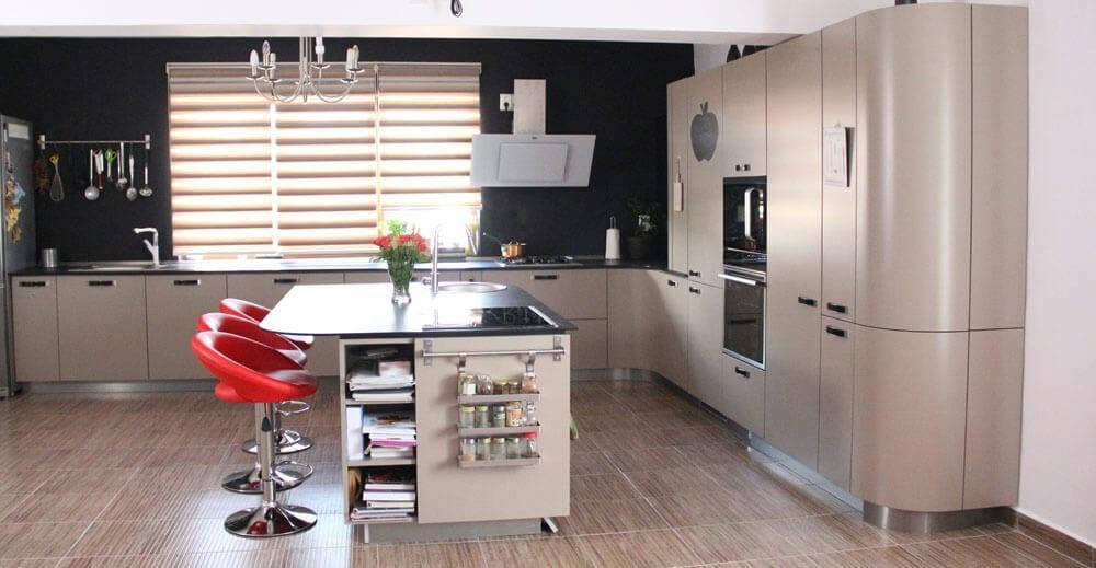 TV studio kitchen for Oana Grecea by Euphoria Kitchens Hall (3)
