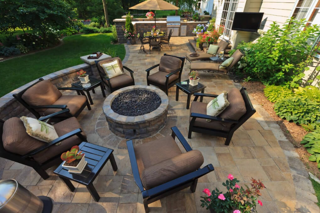 You can entertain outdoors at least 3 seasons of the year.