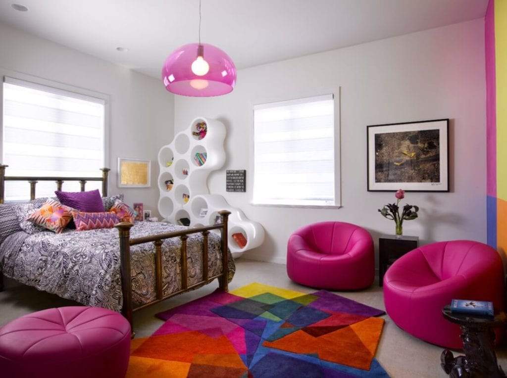 Updated Color Scheme Colorful Rug