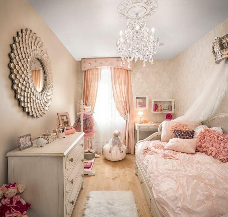 kid's bedroom princess