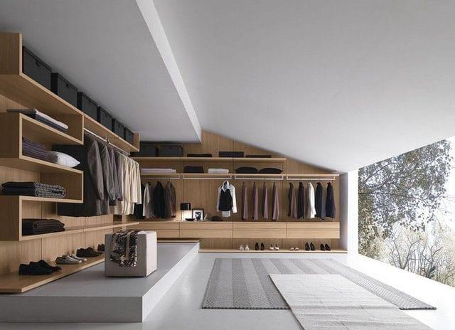 Walk-in Closet for Men - Masculine closet design (2)