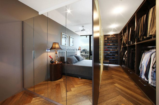 Walk-in Closet for Men - Masculine closet design (7)