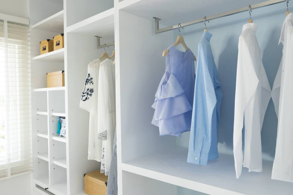 Walk-in Closets Light Color