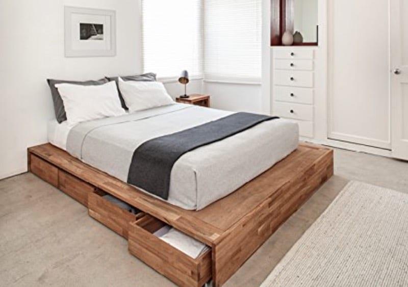 best contemporary storage beds