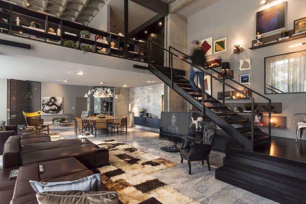 architecture modern loft