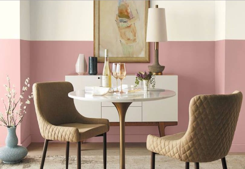 Behr 2020 color trends Bubble Shell