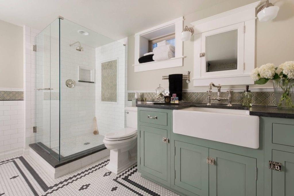 bathroom upgrades plumbing
