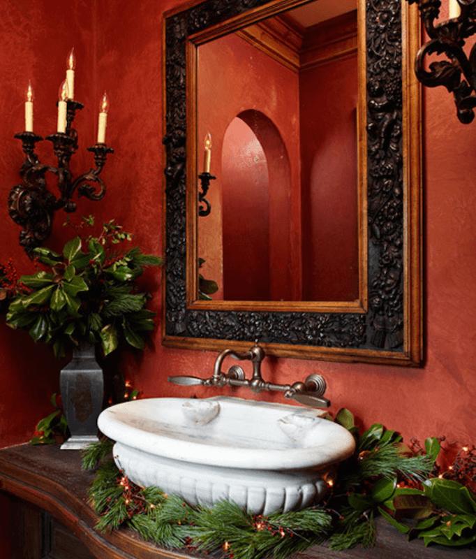 bathroom holiday decor 7