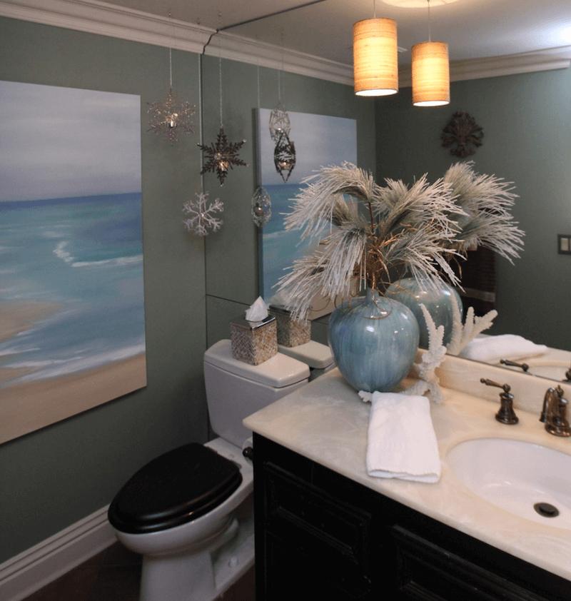 bathroom holiday decor 8