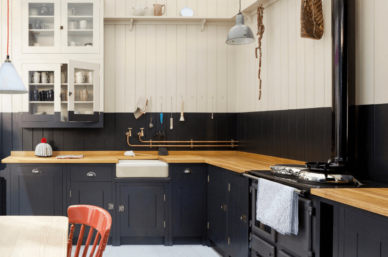 Image of: 31 Black Kitchen Ideas For The Bold Modern Home