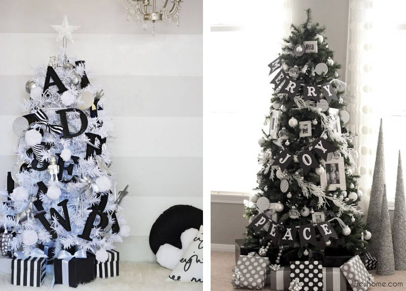 christmas tree decorating ideas - freshome.com