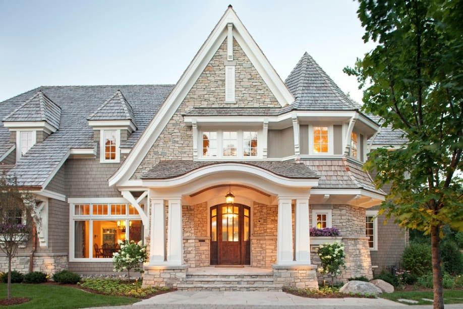 calssic stone house