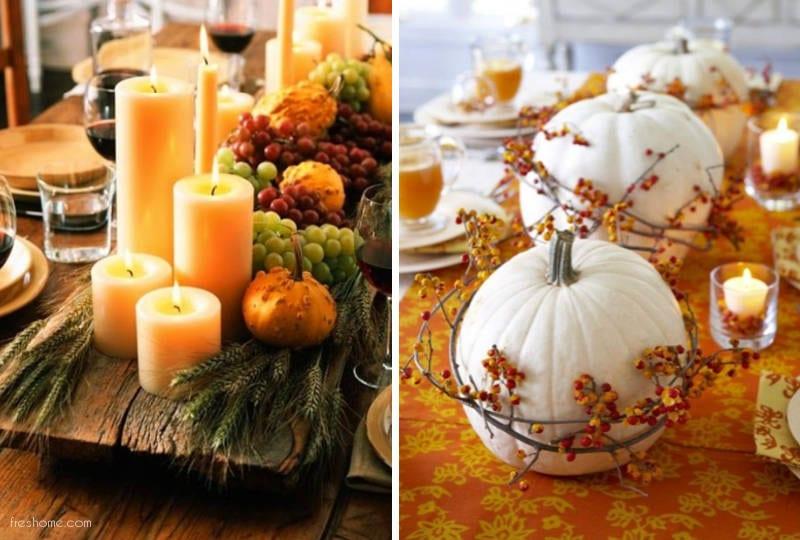 centerpiece ideas for thanksgiving - freshome.com