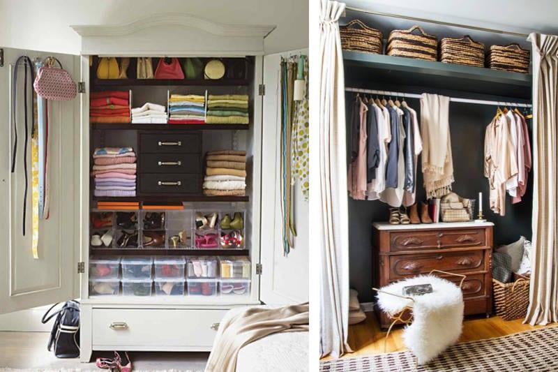 clutter-free closet ideas