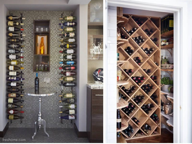 wine cellar ideas and small wine rooms