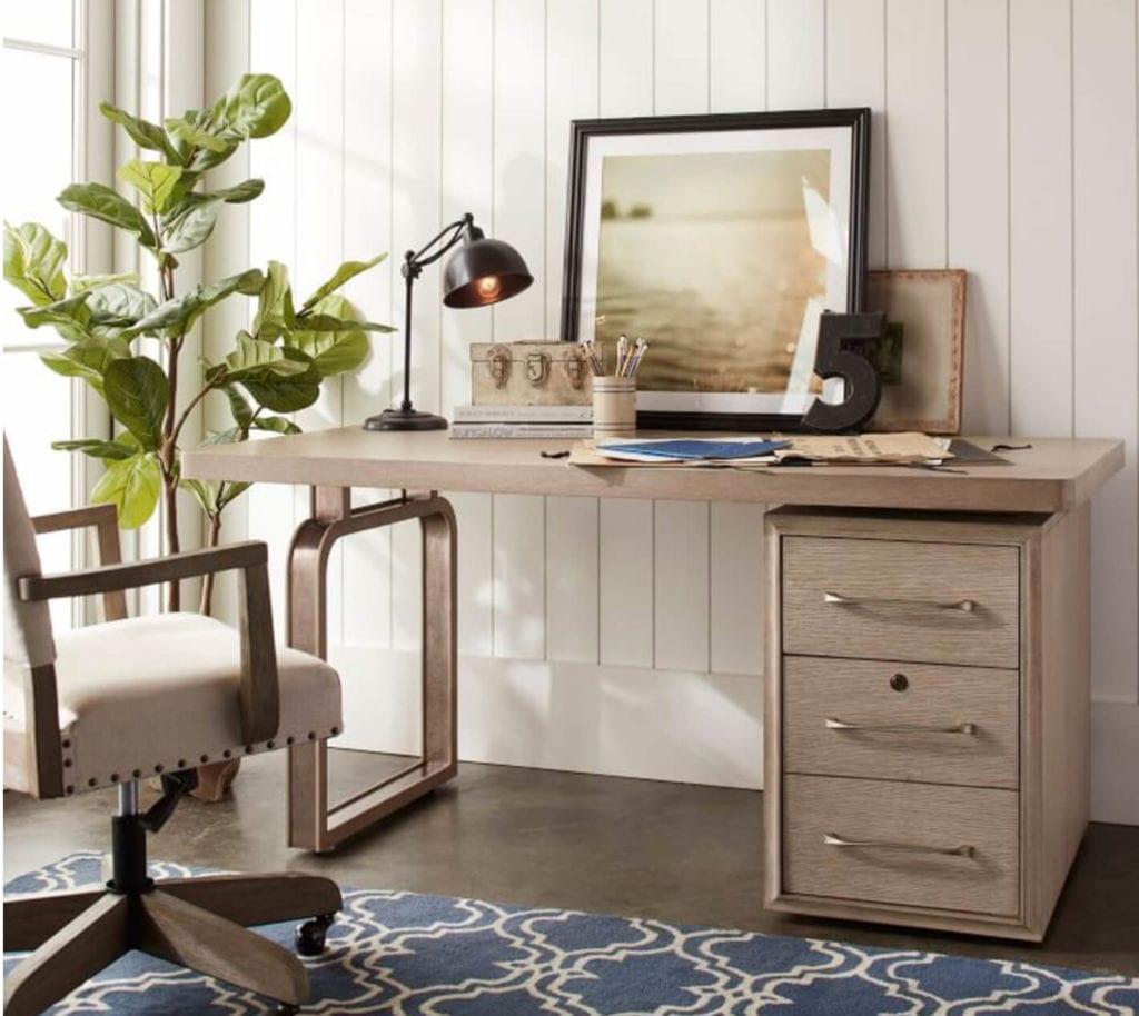 Beach Inspired Desk