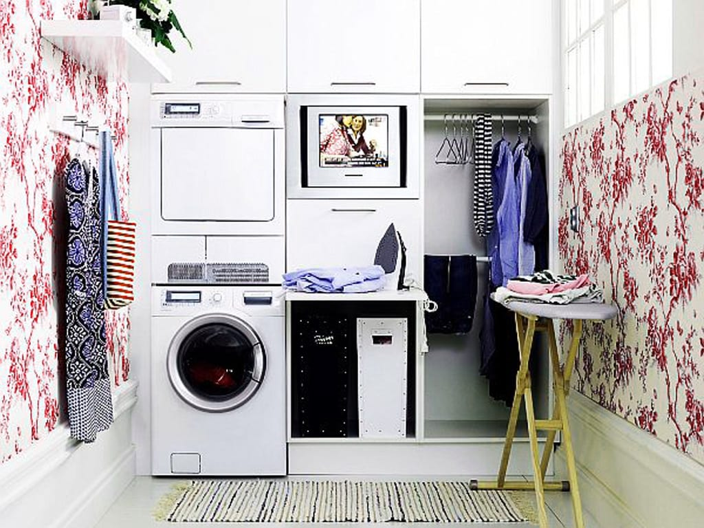 design home - laundry room