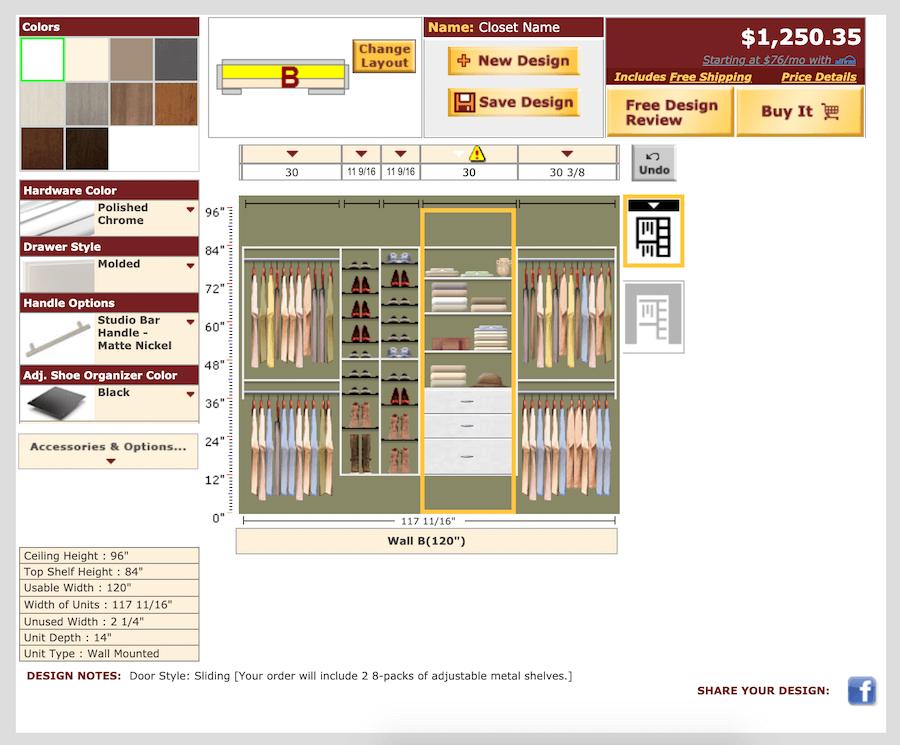 easyclosets designer